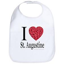 I Love St. Augustine Bib