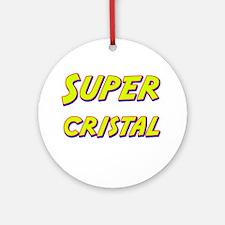 Super cristal Ornament (Round)