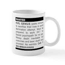 Evil Genius Personal Ad Mug