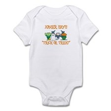 Xavier Says Trick or Treat Infant Bodysuit