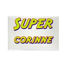 Super corinne Rectangle Magnet