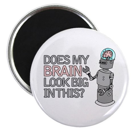Robot Brain Magnet
