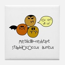 MRSA Tile Coaster