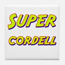 Super cordell Tile Coaster