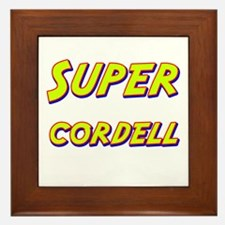 Super cordell Framed Tile