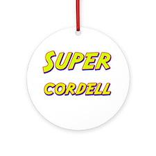 Super cordell Ornament (Round)