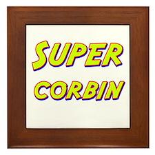 Super corbin Framed Tile