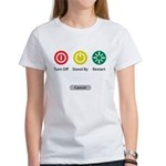 Restart Button Women's T-Shirt
