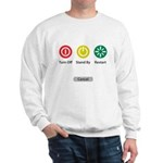 Restart Button Sweatshirt