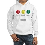 Restart Button Hooded Sweatshirt