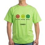 Restart Button Green T-Shirt