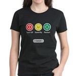 Restart Button Women's Dark T-Shirt