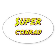 Super conrad Oval Decal