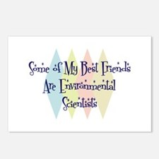 Environmental Scientists Friends Postcards (Packag