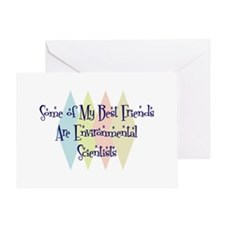 Environmental Scientists Friends Greeting Card