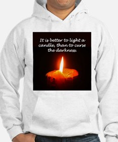 """""""Light a Candle"""" Hoodie"""