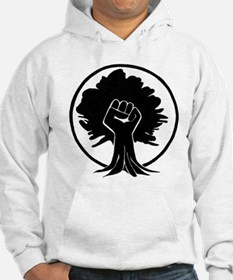 Black Power Fist 2 Hoodie