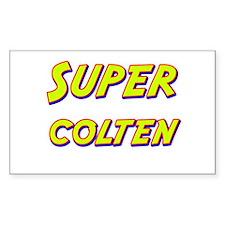 Super colten Rectangle Decal