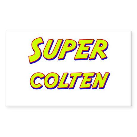 Super colten Rectangle Sticker