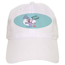 Manic Rabbit white Baseball Cap