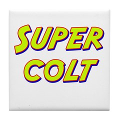 Super colt Tile Coaster