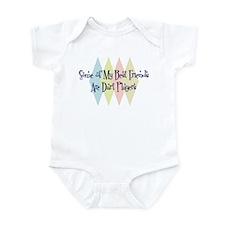 Dart Players Friends Infant Bodysuit