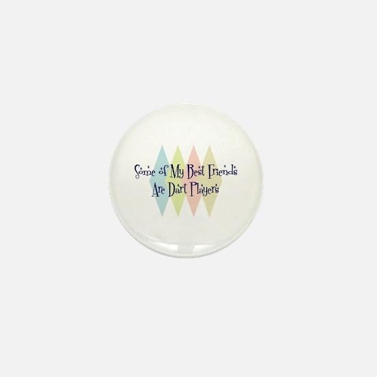 Dart Players Friends Mini Button