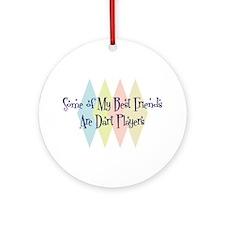 Dart Players Friends Ornament (Round)