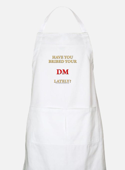 Have You Bribed Your DM Lately? BBQ Apron
