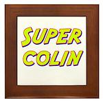 Super colin Framed Tile
