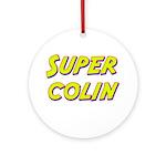 Super colin Ornament (Round)
