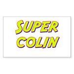 Super colin Rectangle Sticker