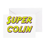 Super colin Greeting Card