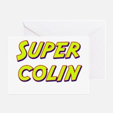 Super colin Greeting Card