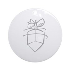 Dreidel Ornament (Round)