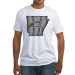 Arkansas Pride! Fitted T-Shirt