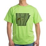 Arkansas Pride! Green T-Shirt