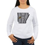Arkansas Pride! Women's Long Sleeve T-Shirt