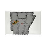 Arkansas Pride! Rectangle Magnet (10 pack)