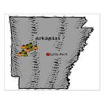 Arkansas Pride! Small Poster