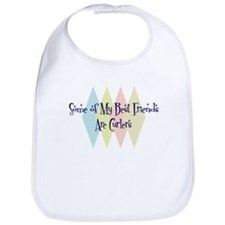 Curlers Friends Bib