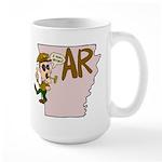 Arkansas Pride! Large Mug