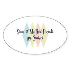 Cruisers Friends Oval Decal