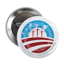 "Christians for Obama 2.25"" Button"