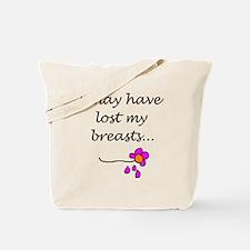 Double Mastectomy Attitude Tote Bag