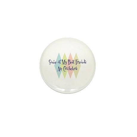Crocheters Friends Mini Button (100 pack)