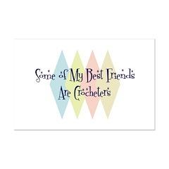 Crocheters Friends Posters
