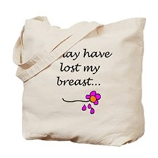 Single Mastectomy Attitude Tote Bag