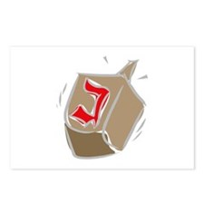 Dreidel Postcards (Package of 8)