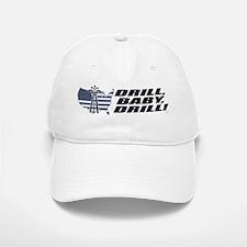Drill Baby Drill! Baseball Baseball Cap